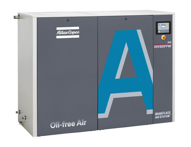AQ Water injected screw compressor