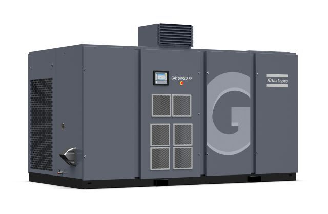 Oil-injected screw GA 160VSD- full-feature